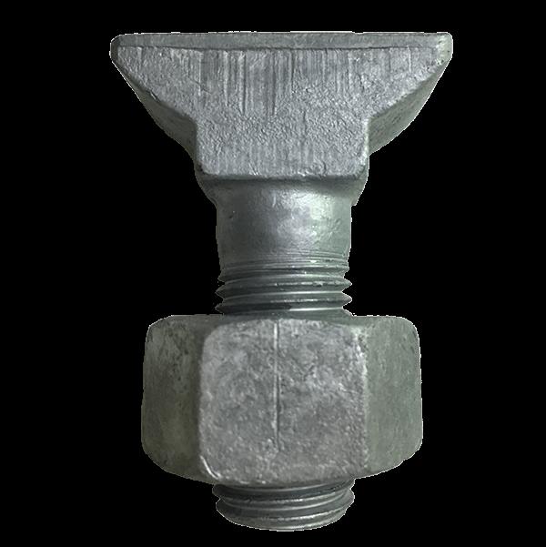 Rail bolt